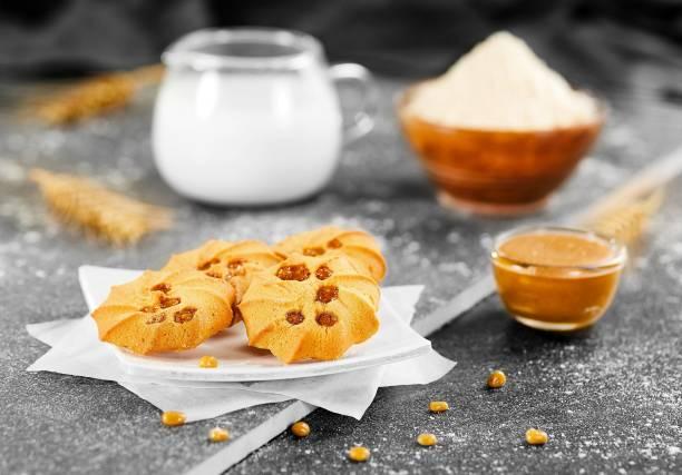 BADSHAH MILK RUSK Pack of 3_ Butter Scotch cookies_300g_each pack Cookies