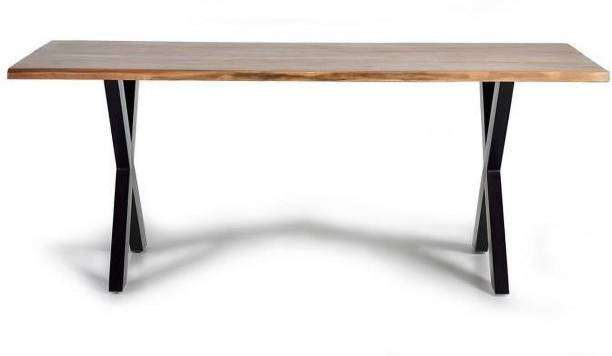 The kashth Solid Wood 6 Seater Dining Table