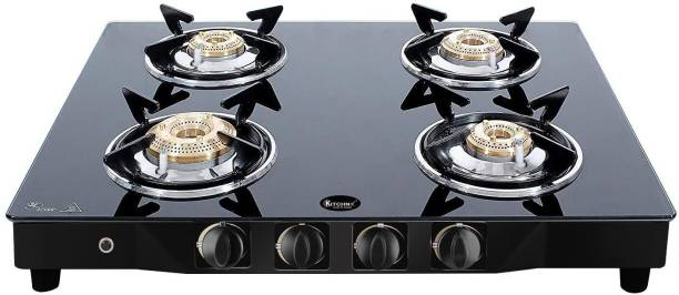 Kitchnx Steel Automatic Gas Stove