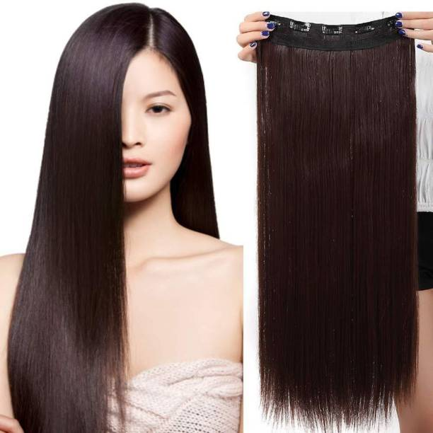 D-DIVINE High Quality 24 Inch Brown  Extension Hair Extension