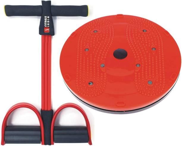 Fitness India Pull Reducer   Tummy Twister (Set of 2) Ab Exerciser