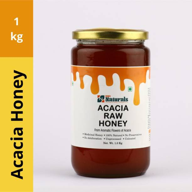 LIVE-ON NATURALS ACACIA RAW HONEY | 100% PURE AND HONEY | UNHEATED, UNPROCESSED AND UNADULTERATED | GOOD FOR HEALTH, IMMUNITY BOOSTER, WEIGHT MANAGEMENT | MEDICINAL VALUES AND AYURVEDIC RECOMMENDED | DIRECT FROM FARM TO TABLE