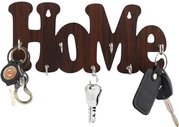 Metvan Home Cut Wood Key Holder