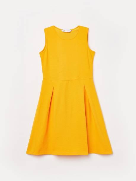 FAME FOREVER Girls Midi/Knee Length Casual Dress