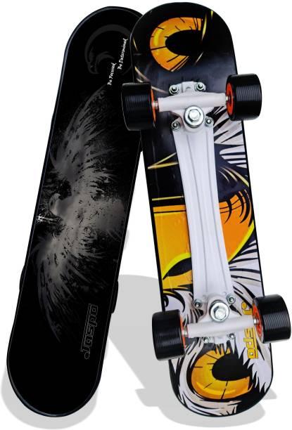 "Jaspo Power Kids 26"" inches Skateboard for Beginners Boys & Girls (6 Years & Above) 26 inch x 6.25 inch Skateboard"