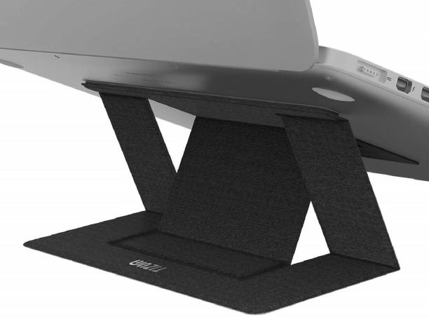 Tizum Laptop & Computer Stand, Portable Foldable Holder Fit ONLY for MacBook, Air, MacBook Pro, Ipad and Tablets, Invisible Lightweight Laptop Stand