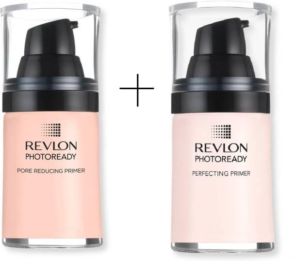 Revlon PhotoReady Primer ( Pore Reducing + Perfecting Primer) Pack of 2 Primer  - 54 ml