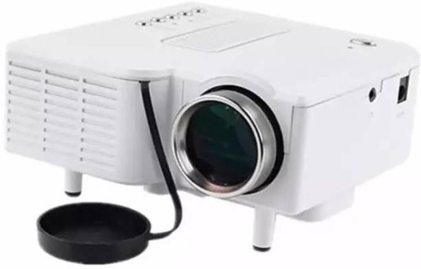 V.T.I HD Mini LED Projector Home Theater Cinema HDMI/AV/VGA/USB/SD Portable Portable Projector