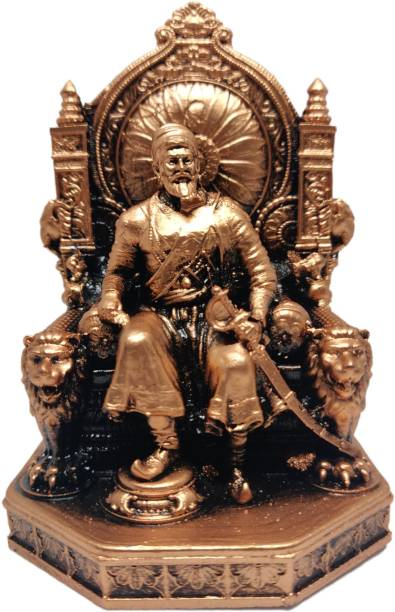 digital kings Chhatrapati Shivaji Maharaj Murti/Statue for Home Decore/ Office Decor/ Gifting (3 Inch) Decorative Showpiece  -  9 cm
