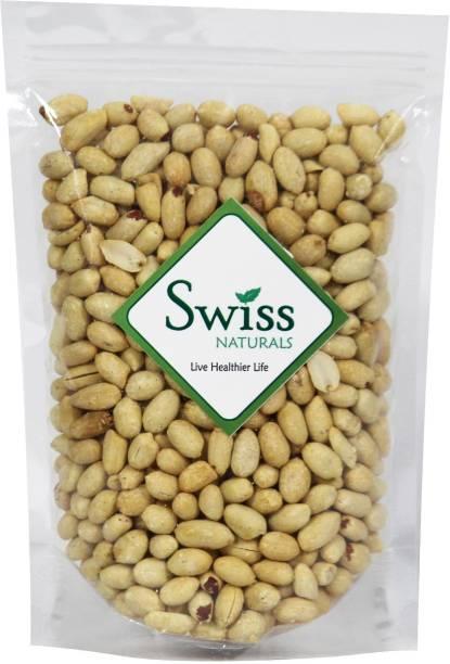 swiss naturals Roasted Unsalted Peanut