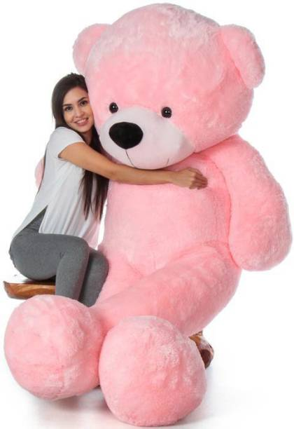 Bhagwati Soft Toy 2 FEET PINK TEDDY BEAR FOR GIRLFRIEND AND WIFE FOR BIRTHDAY GIFT  - 60 cm