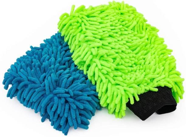 Auto Hub Microfiber Vehicle Washing  Hand Glove