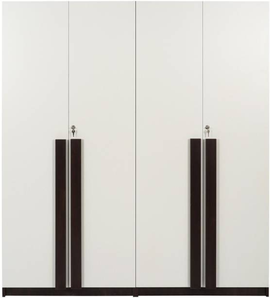 TREVI Regal Deluxe Without Drawer Engineered Wood 4 Door Wardrobe