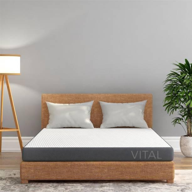 Livpure Smart Vital Reversible Dual Comfort Mattress 5 Inch California King 5 inch King High Resilience (HR) Foam Mattress