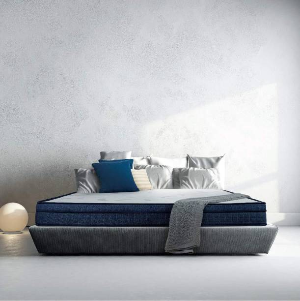 Sleepwell Cocoon Two-As-One Customizable Feel 6 inch Queen High Resilience (HR) Foam Mattress