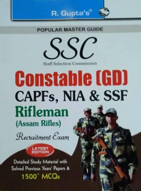 Ssc Constable (Gd) Itbpf/Cisf/Crpf/Bsf/SSB Rifleman - Recruitment Exam Guide 2022 Edition