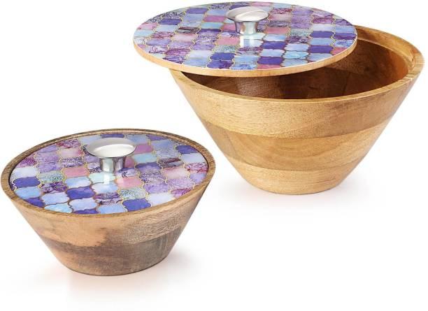 Woodsmyths Wooden Serving Bowl