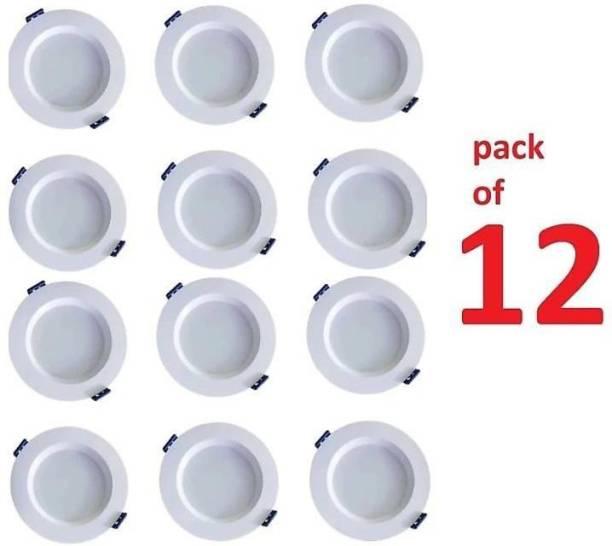 Cosas 9 W Round Plug & Play LED Bulb
