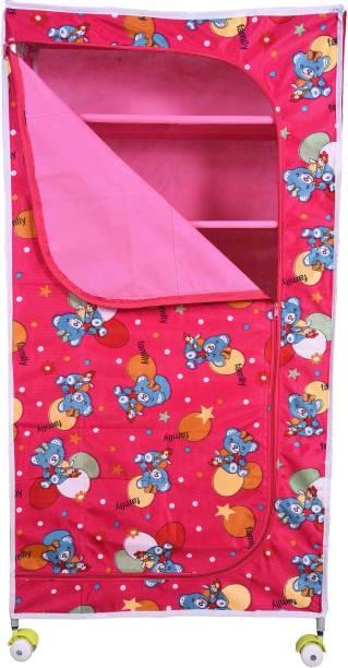 Childcraft 6 Shelve Fabric Wardrobe PP Collapsible Wardrobe