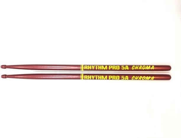 Rhythm Pro CHROMA 5A PINK WITH STICKBAG FREE 5A Drumsticks