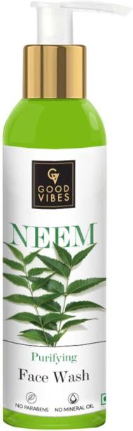 GOOD VIBES Purifying  - Neem (120 ml) Face Wash