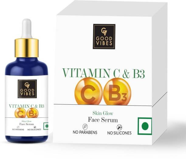 GOOD VIBES Vitamin C & Vitamin B3 Skin Glow Face Serum (30 ml)