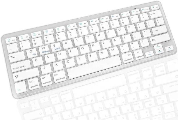 Cezo Universal Ultra Slim Portable Bluetooth Multi-device Keyboard