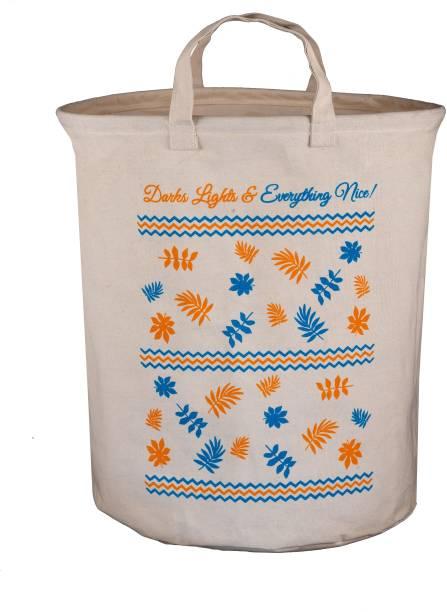 Juteberry 45 L Dark Blue, Orange Laundry Bag