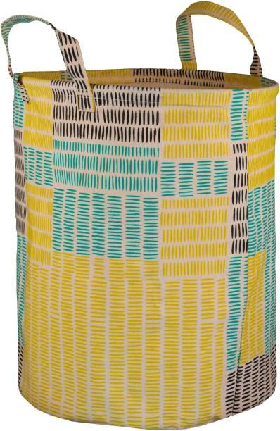 Juteberry 45 L Yellow Laundry Bag