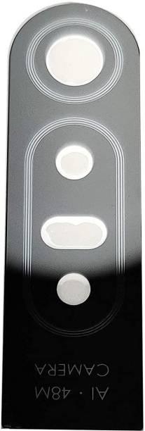 Furious3D Black Rear Good Quality Original Camera Lens Glass With Glue sticker For Infinix S5 Pro Camera Lens Glass