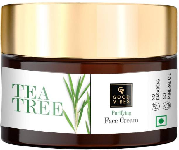 GOOD VIBES Purifying Face Cream - Tea Tree (50 g)