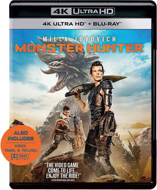 Monster Hunter (4K UHD & HD) (2-Disc)
