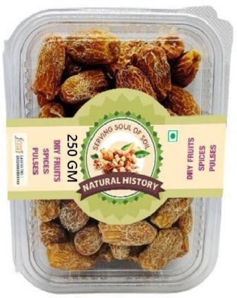 natural history - Dried Dates (Kharik) -250 Gm (Pack Of 1 ) Dates