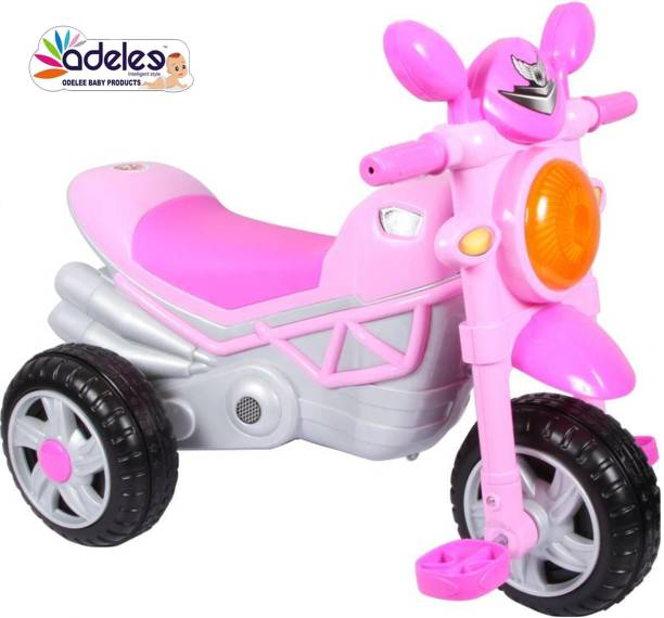 ODELEE BULLET Ride on Tricycle For kids Rideons & Wagons Non Battery Operated Ride On