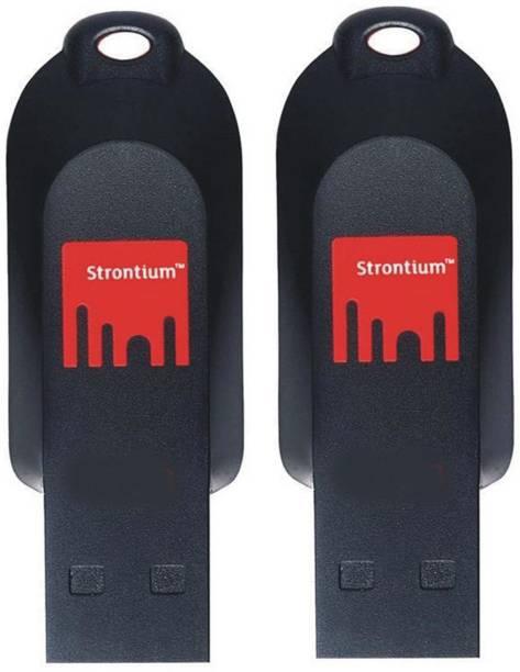 Strontium POLLEX FLASH DRIVE 32 GB 2PC 32 GB Pen Drive