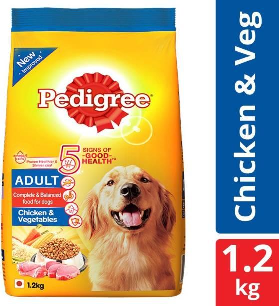 PEDIGREE Adult Chicken, Vegetable 1.2 kg Dry Adult Dog Food