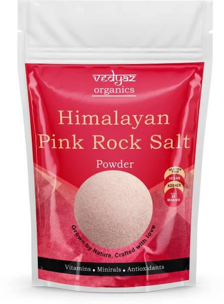 Vedyaz Organic Himalayan Pink salt powder for weight loss Pure organic Pakistani pink Namak - 750gm - loaded with essential minerals Himalayan Pink Salt