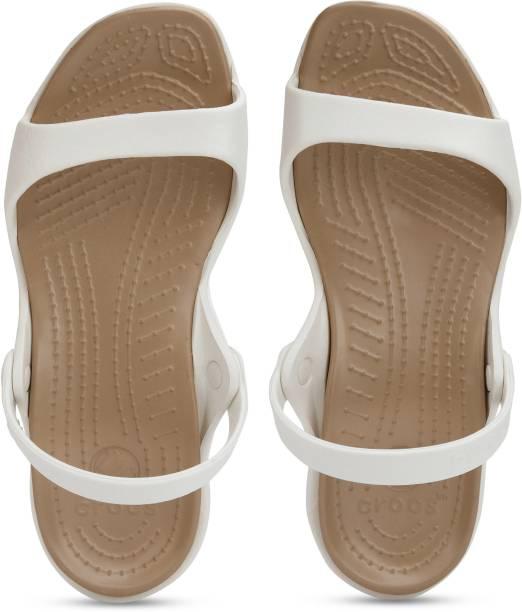 CROCS Women White Flats