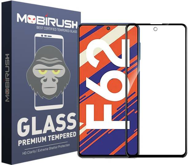 MOBIRUSH Edge To Edge Tempered Glass for Samsung Galaxy F62