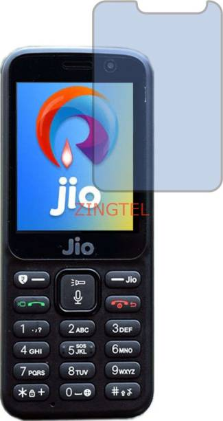 ZINGTEL Tempered Glass Guard for JIO LYF F90 (Impossible AntiBlue Light)