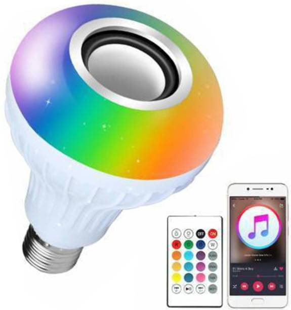 mafya 7 W Bluetooth Speaker Remote Control Speaker led light Smart Bulb