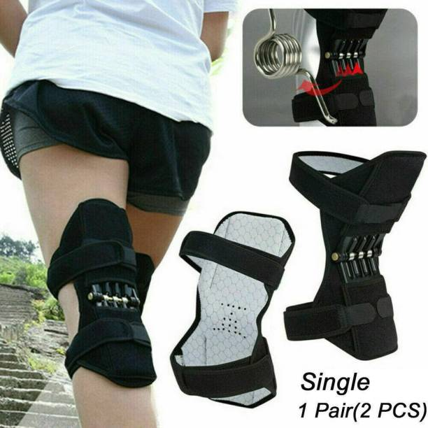 Wonder World ® Power Lifting Spring Force, Joint-Supporting Knee pad Knee Support