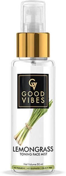 GOOD VIBES Lemon Grass TonerFace Mist - 50 ml Women