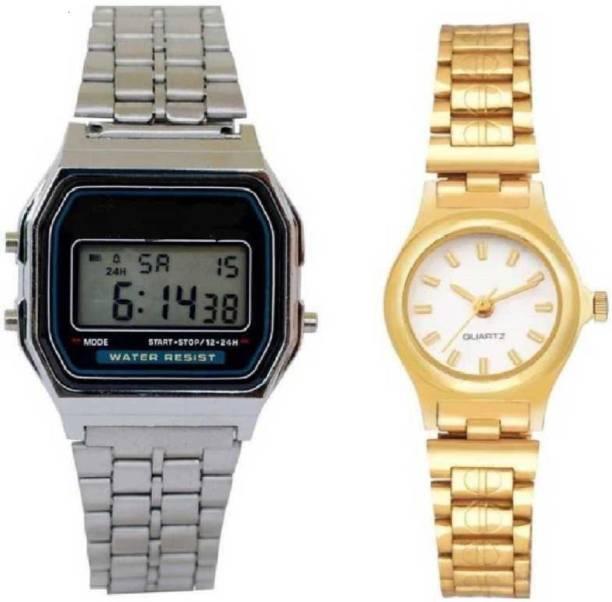 RSM 3442 stylish different colored Watch Analog-Digital Watch  - For Men & Women