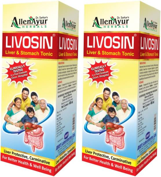 Livosin Liver & Stomach Tonic (450ml X 2)