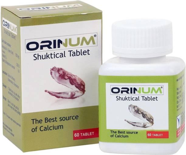 orinum Shuktical Tab 60s