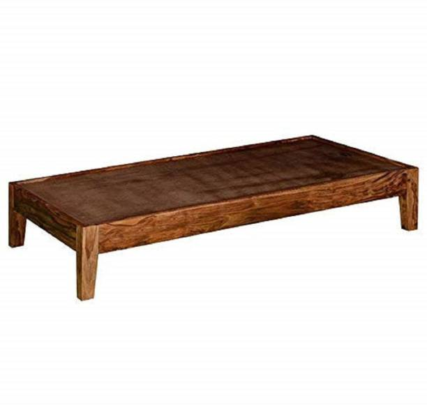 FURINNO Solid Wood Single Bed
