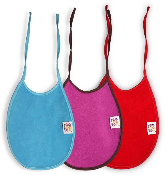 BeyBee Fast Dry Waterproof, Soft Cotton, Daily Use Baby Bibs For Baby Boy And Baby Girl