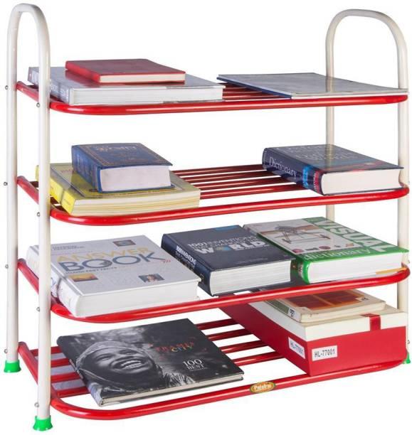 Patelraj Heavy Metal Open Book Shelf
