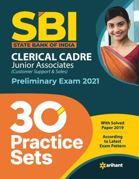Sbi Clerk Junior Associates 30 Practice Sets Preliminary Exam 2021